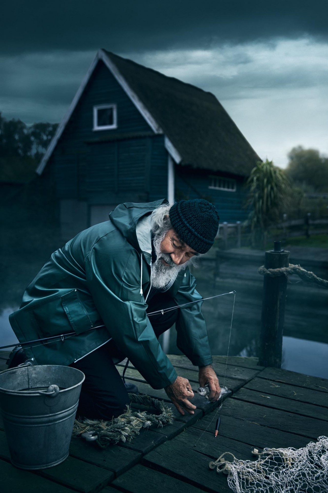 JULES ESICK FISHERMAN